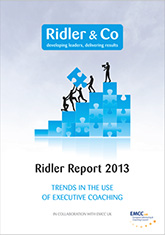Ridler report executive coaching