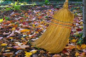 sweeping leaves picture for blog